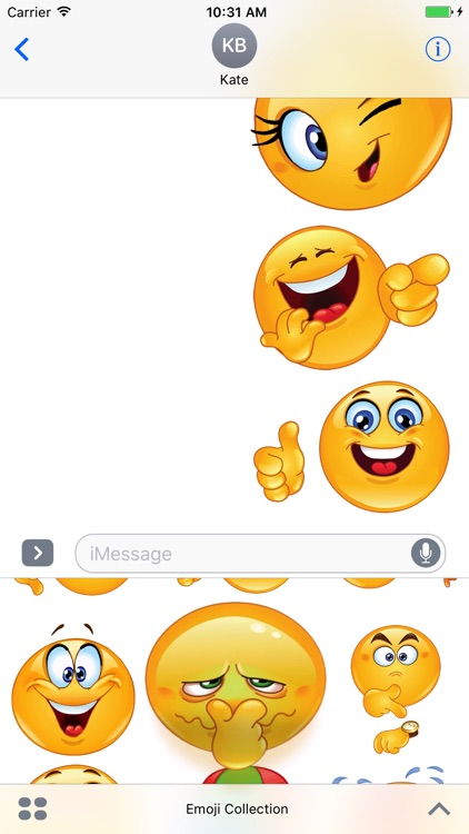 Emoji Collection Stickers screenshot-3