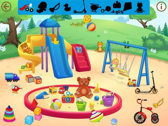 Детские игры и пазлы для 3 лет на iPad