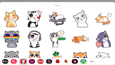 Screenshot for Angry Kitten iMessage Stickers in Hong Kong App Store