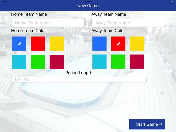 Metrix Hockey screenshot-1