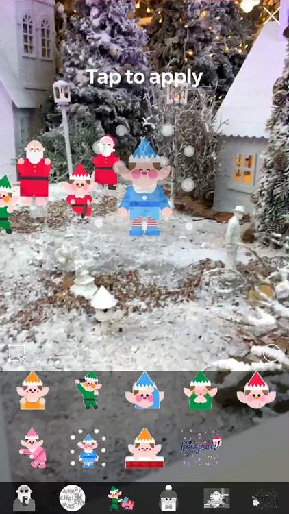 Christmasmoji AR screenshot-3