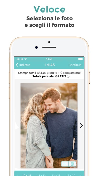 Screenshot for FreePrints - Stampe gratuite in Italy App Store