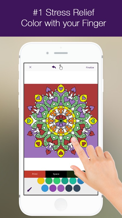 Color.s Touch Coloring Book
