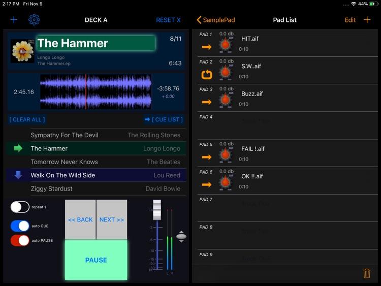 PlayBacker for iPad screenshot-4