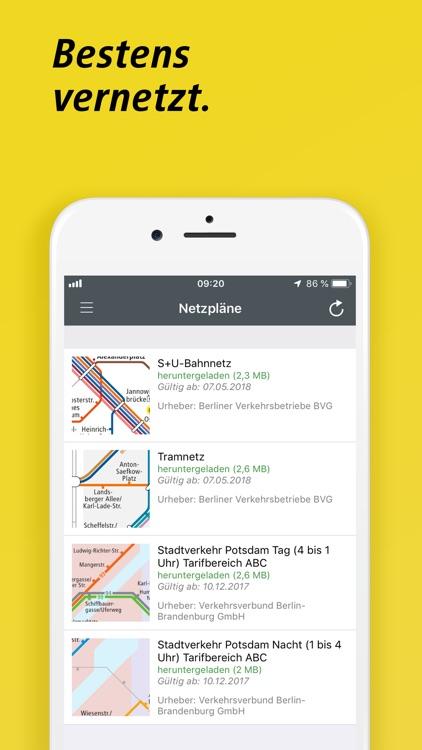 BVG FahrInfo Plus Berlin screenshot-6