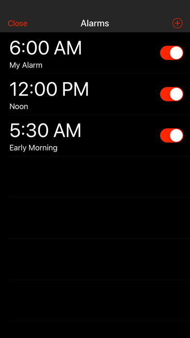 Minapps Alarm Clock screenshot two