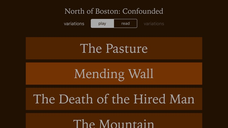 North of Boston: Confounded