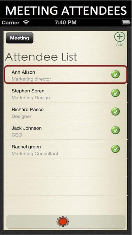 Meeting Notes screenshot-3
