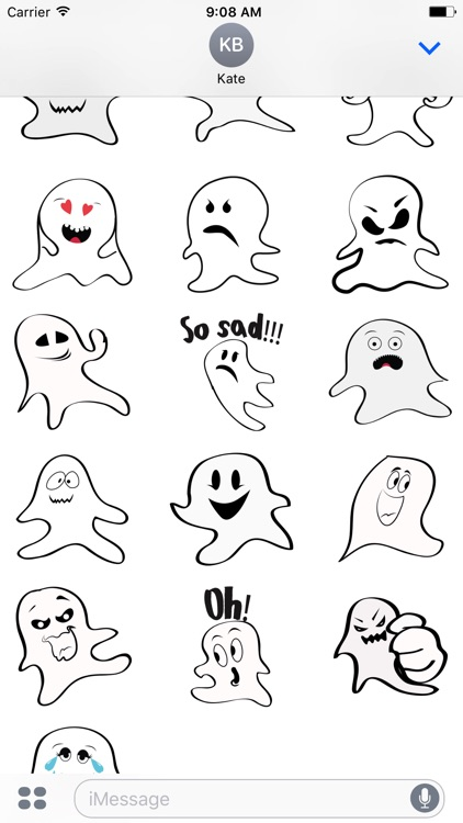 Ghost emoji and sticker screenshot-3