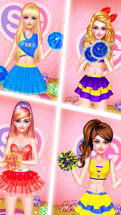 IPL Cheerleader Beauty Salon screenshot three