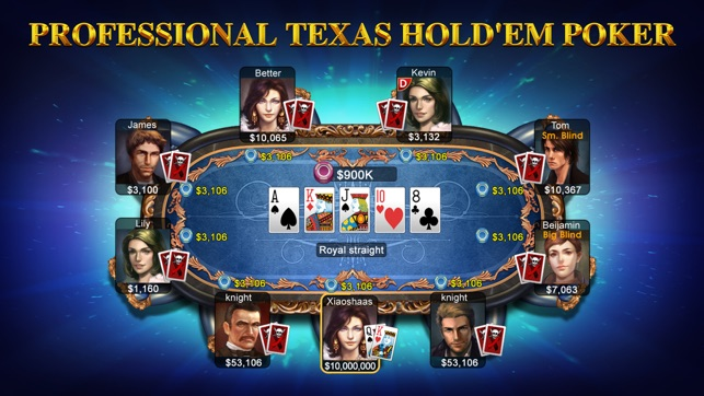 DH Texas Poker on the App Store