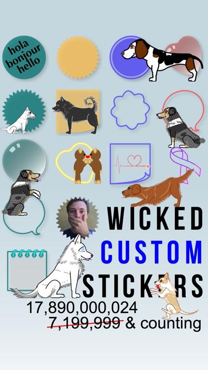 Wicked Custom Stickers screenshot-0