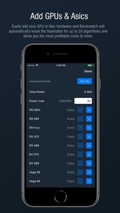 Blockwatch - Mining Monitor | App Price Drops