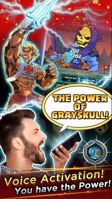 He-Man™ Tappers of Grayskull™ Screenshot on iOS