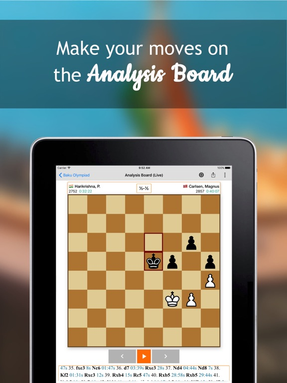 Follow Chess для iPad