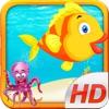 Flippy Floppy Fish - 多人实时飞扬的鸟鱼深的海洋!