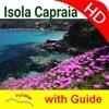 Isola Capraia HD Travel Charts