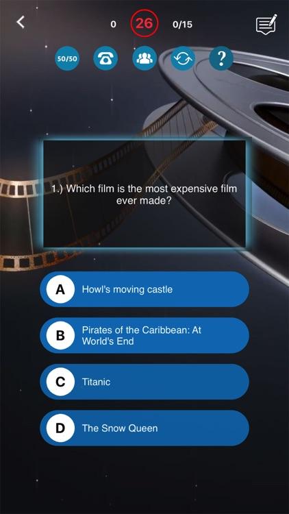 Movie Quiz Get Challenge Film