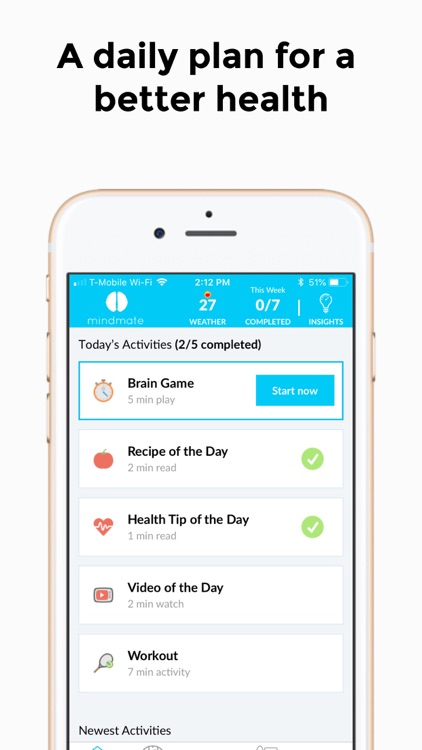 MindMate - For a healthy brain
