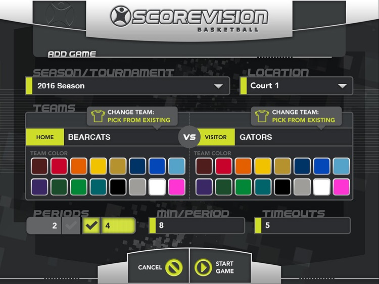 ScoreVision Basketball screenshot-1