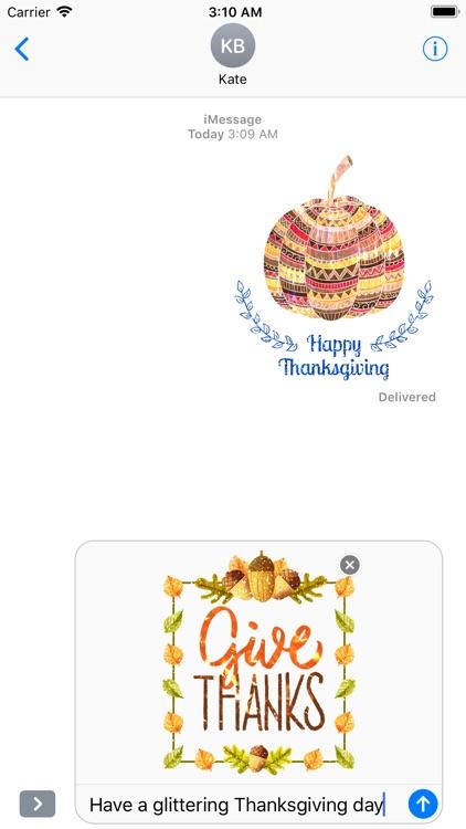 Glittering Thanksgiving screenshot-3
