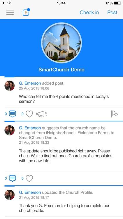 SmartChurch screenshot-3