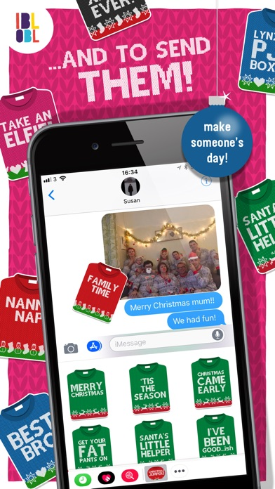 Christmas Jumpers for iMessage screenshot 3