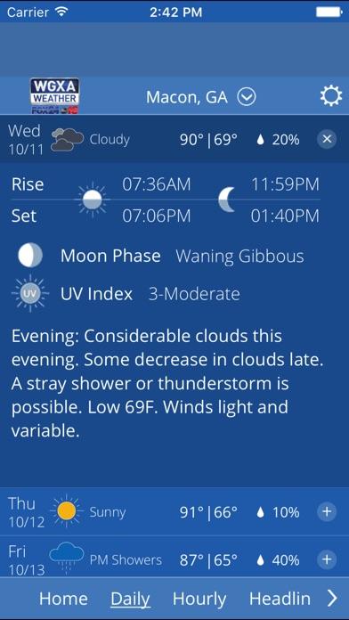 WGXA Weather for Windows