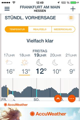 AccuWeather: Weather Tracker screenshot 3