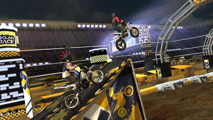 Clan Race: Extreme Motocross screenshot-0