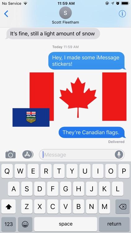 Canada's Provincial Flags