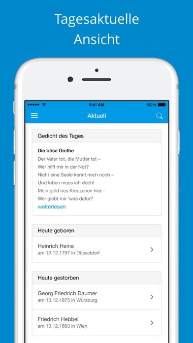 Deutsche Gedichte - SammlungScreenshot von 3