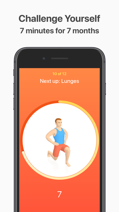 Seven - 7 Minute Workout Screenshot