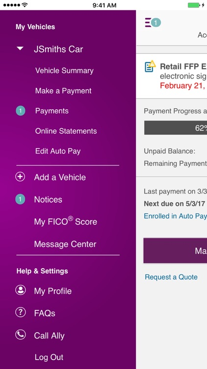 Ally Auto Mobile Pay screenshot-2