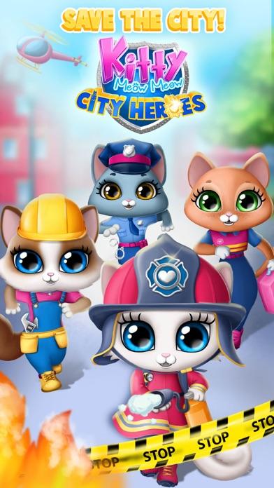 Kitty Meow Meow City Heroes screenshot 1