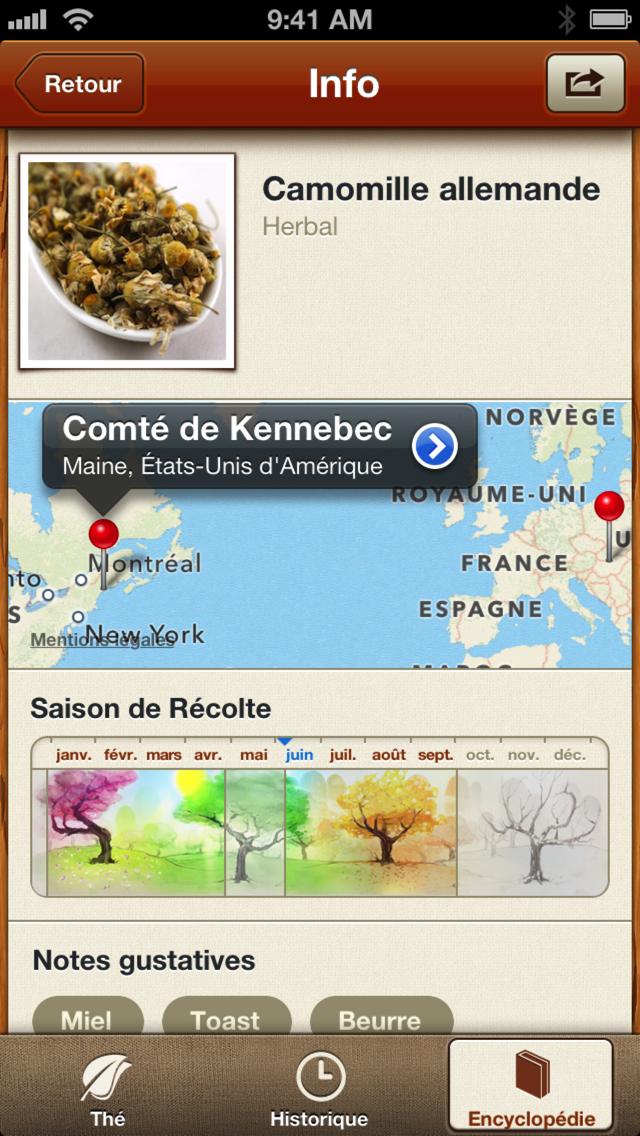 Tea : une app iPhone pour les adeptes du thé-capture-1