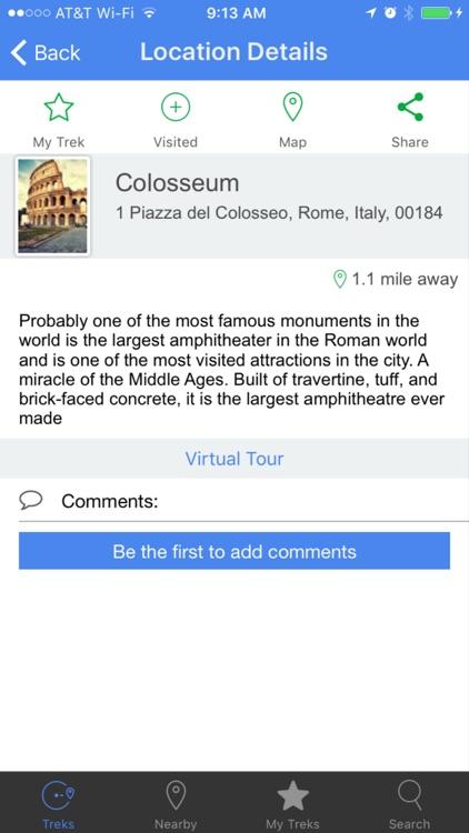 VR TreksInTheCity: Rome