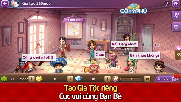 360mobi Cờ Tỷ Phú screenshot-3