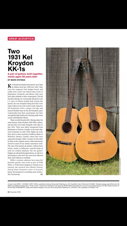 Acoustic Guitar Magazine screenshot-4
