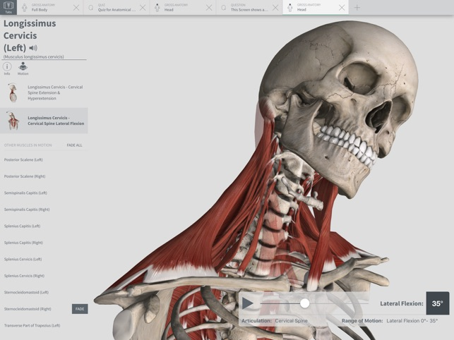 Complete Anatomy 2018 Courses On The App Store