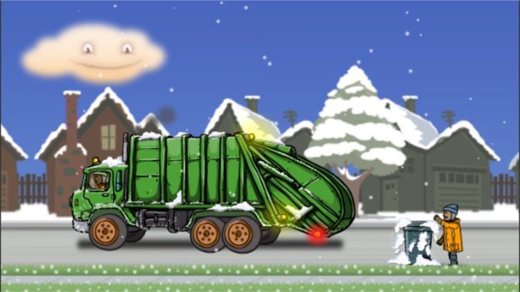 Garbage Truck: Snow Time