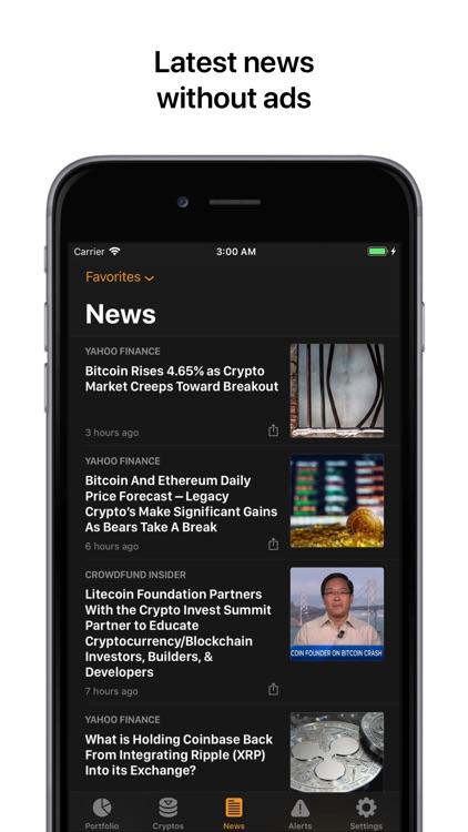 Crypto Pro: Bitcoin Tracker screenshot-7