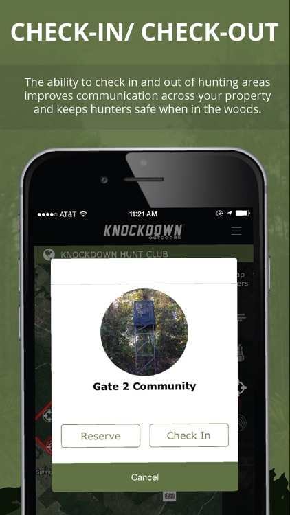 Knockdown Outdoors Hunting App