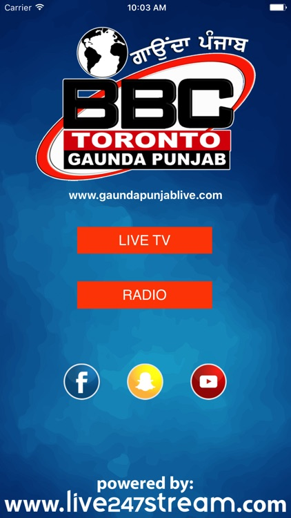 Gaunda Punjab TV by LIVE247STREAM