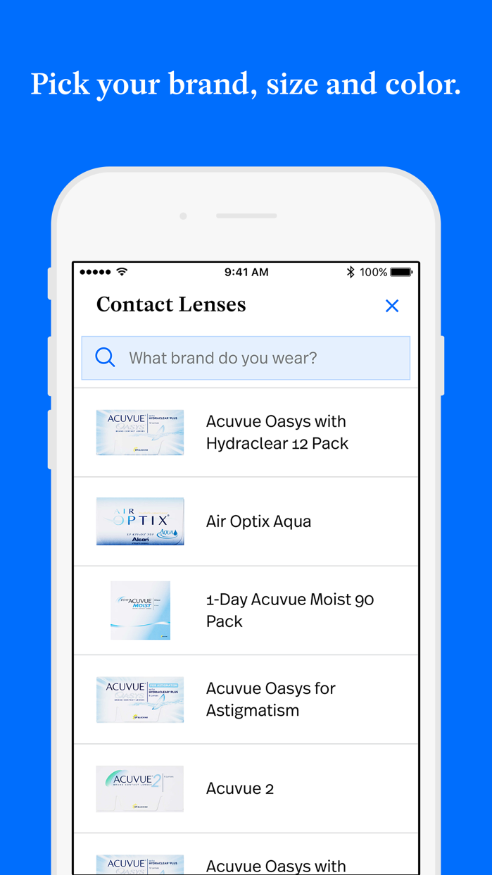 Simple Contacts Screenshot