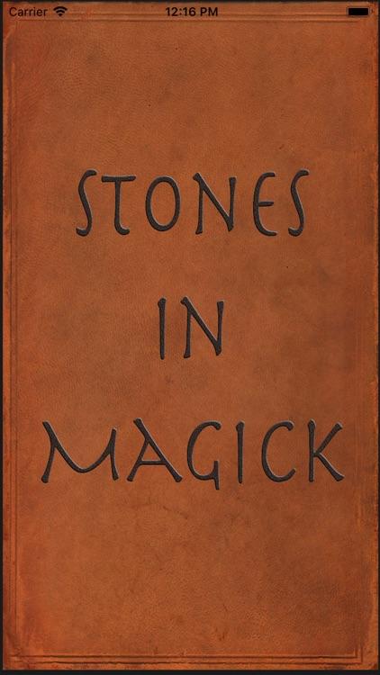 Stones in Magick