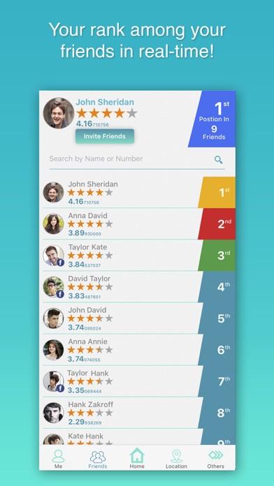 Global Rank - Rating & Review screenshot three