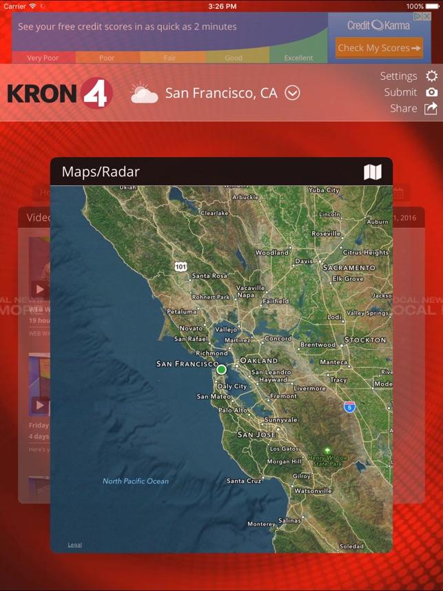 KRON4 Wx San Francisco on