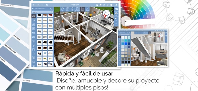 Home design 3d en app store for Programa para disenar ambientes 3d gratis