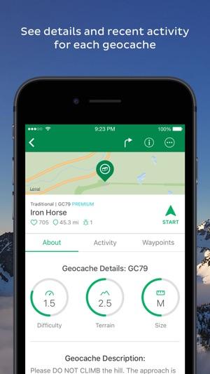 Geocaching app free vs paid dating